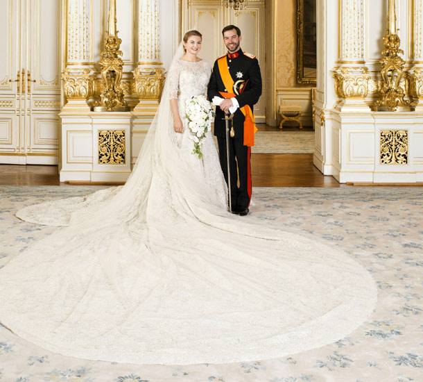 ROYAL COUTURE.....Wedding of Prince Guillaume of Luxembourg | Nick ...
