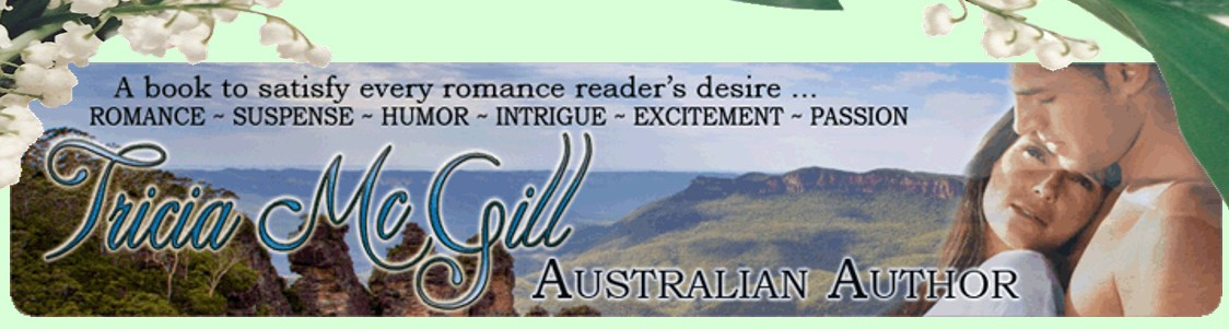 Tricia McGill-Australian Author