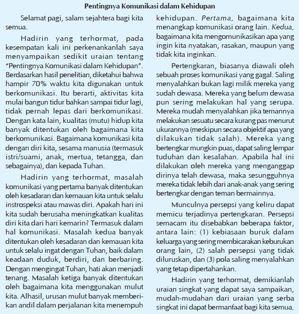 ptkbahasaindonesia: Cara Menyimpulkan Pesan Pidato yang ...