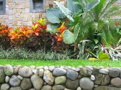 Decorar con piedras el jard n decoracion para el hogar - Decorar jardin con piedras ...
