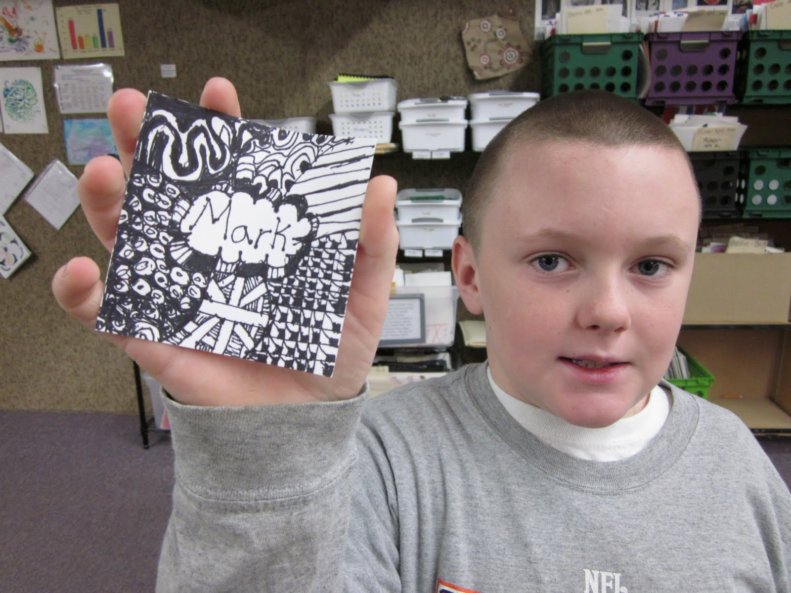 Line Art Grade : Art at east union and more : 3rd grade zentangle line