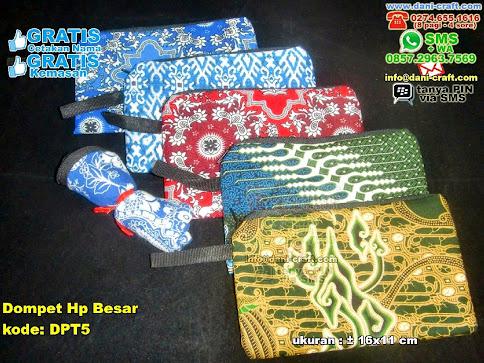 Dompet Hp Besar Kain Batik