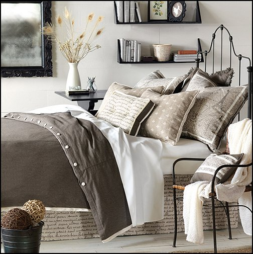 gallery for grey french country bedroom