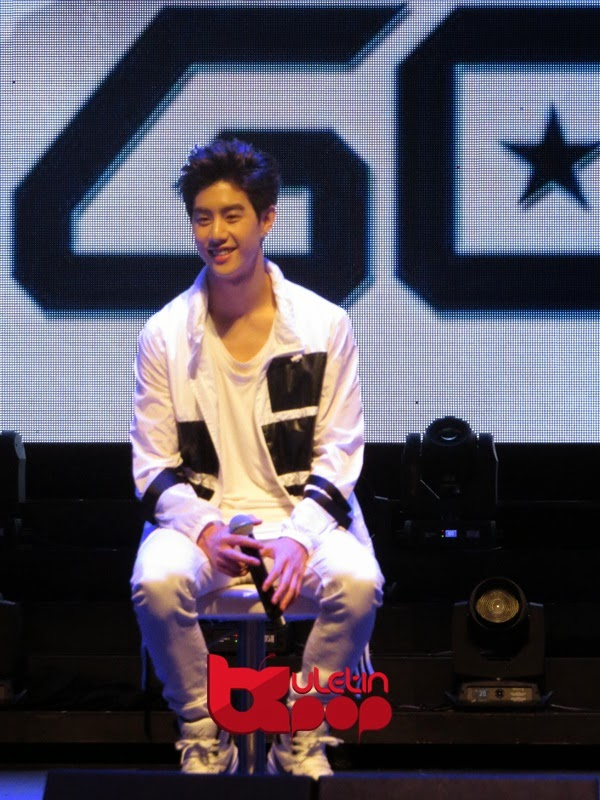 GOT7, Singapura, fan meeting, 2015, Mark
