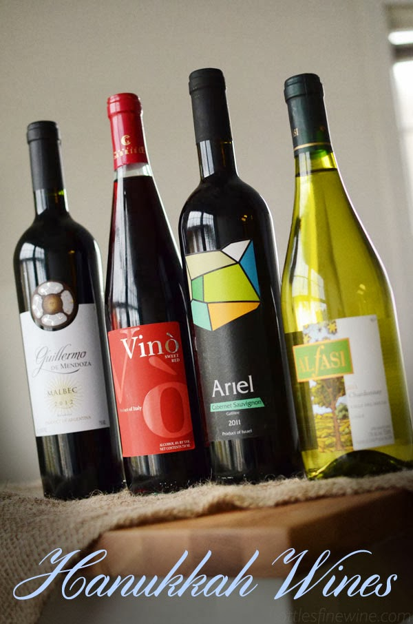 kosher wines for hanukkah