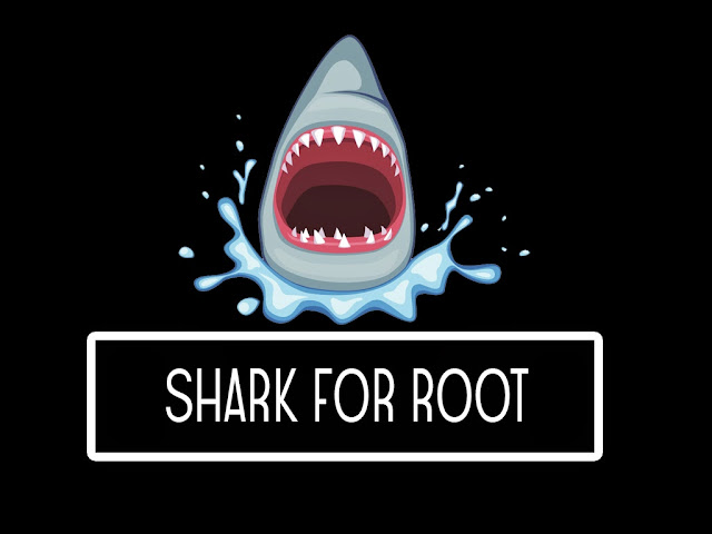 Hackers android app shark for root