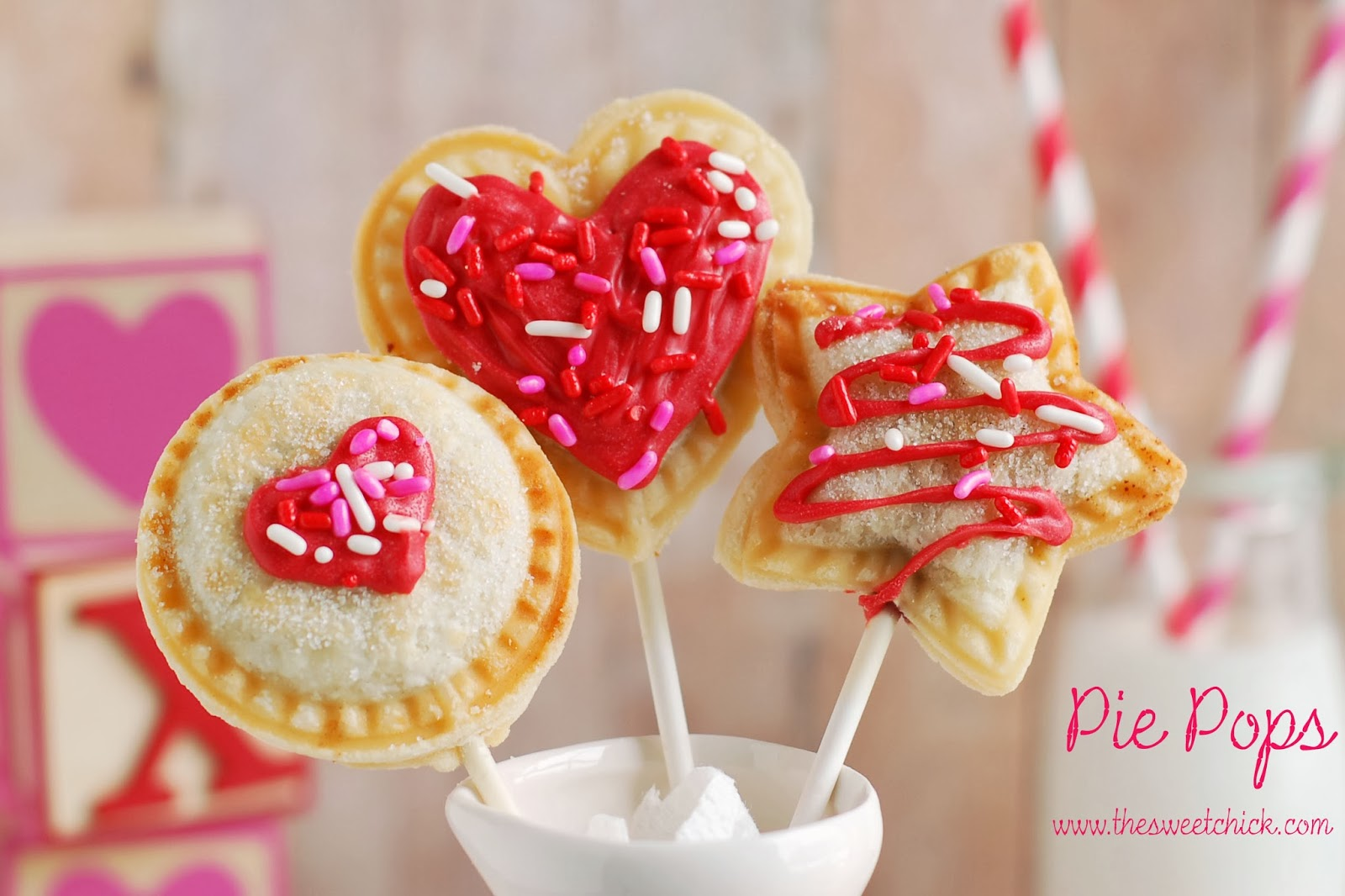 Pie Pops by The Sweet Chick
