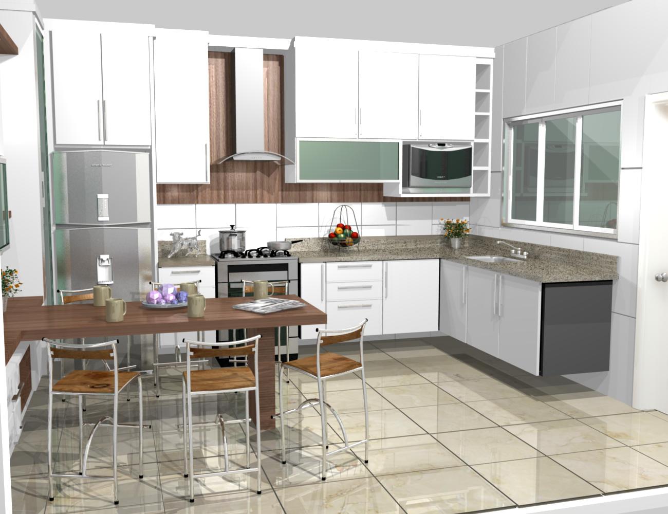Cozinhas Planejadas Modernas Com Ilha Cozinhas Cozinha Planejada