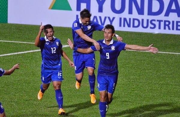 Piala AFF : Malaysia vs Thailand 2-3