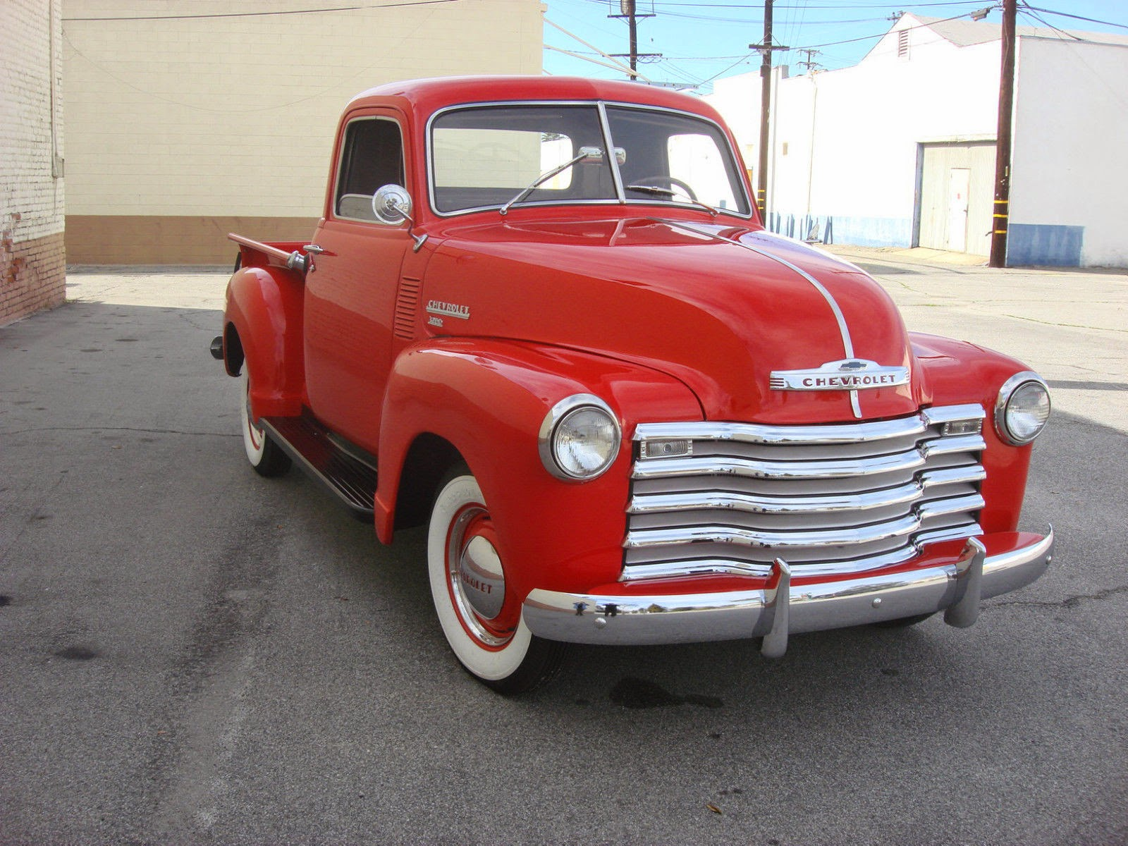All american classic cars 1950 chevrolet 3100 pickup truck for Classic american images