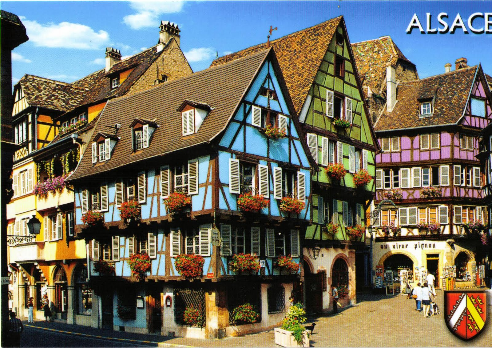 Colmar France  city photos gallery : Colmar France Map