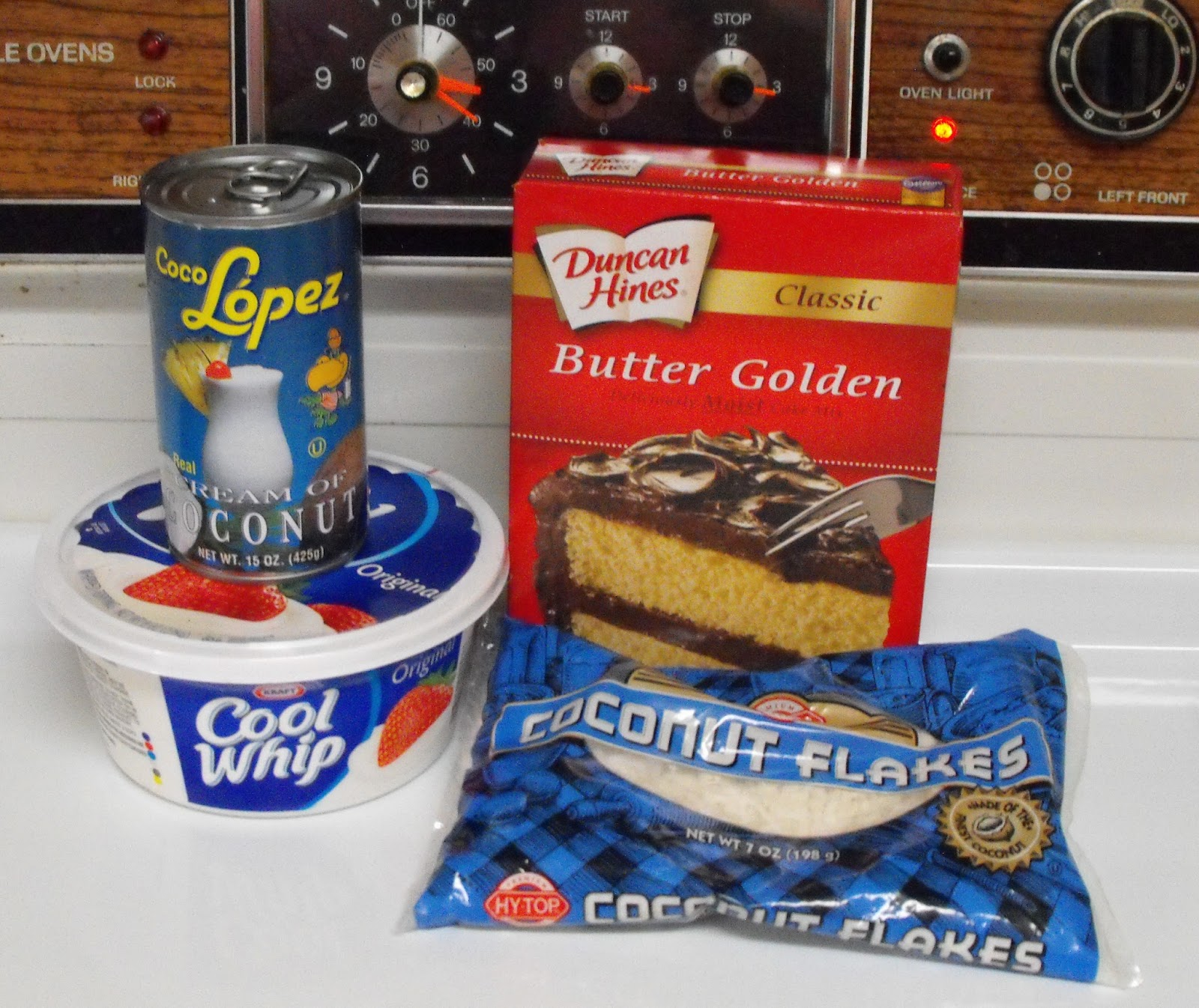ingredients 1 yellow or white cake prepared 1 container cool