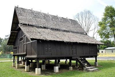 Rumah Klasik Tradisional Pahang  Rumah Serambi Pahang