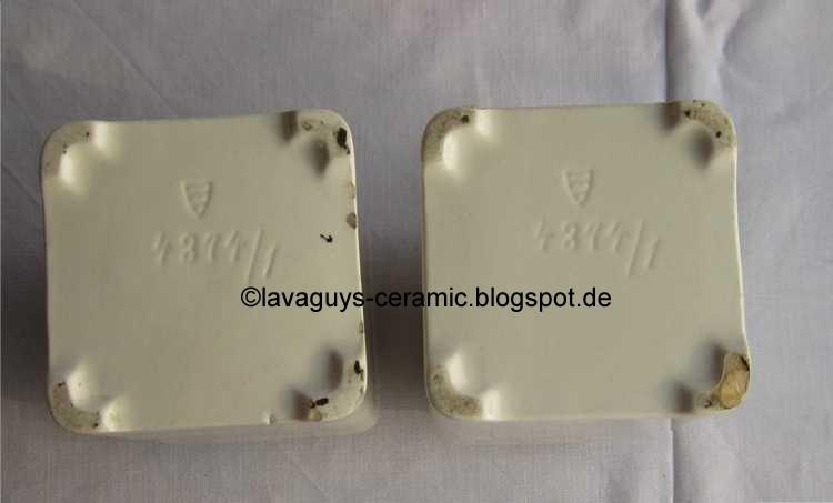 Wächtersbacher keramik stempel