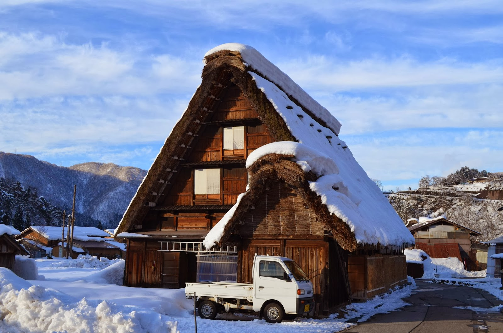 Farmhouse at Shirakawa Go