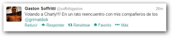 Twitter Gastón Soffritti
