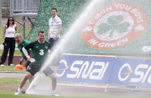 Shay Given springs a leak