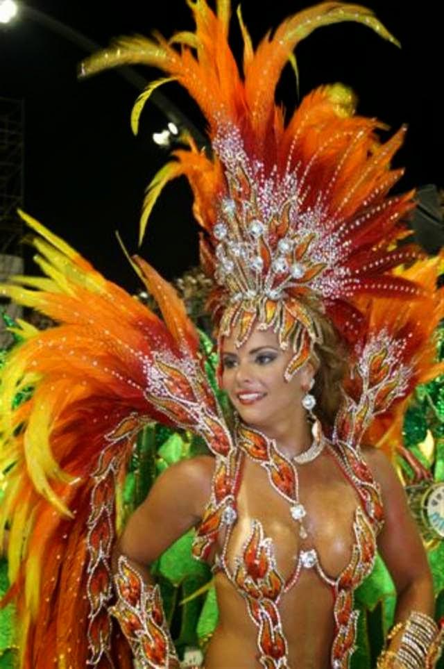 Carnival in Rio de Janeiro in 2014