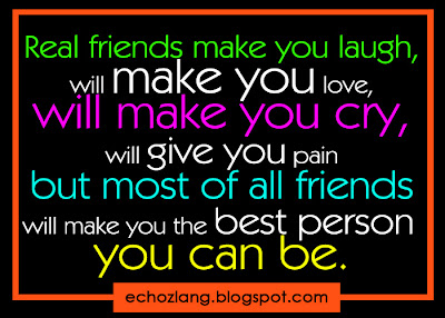 friends will make you the best person you can be