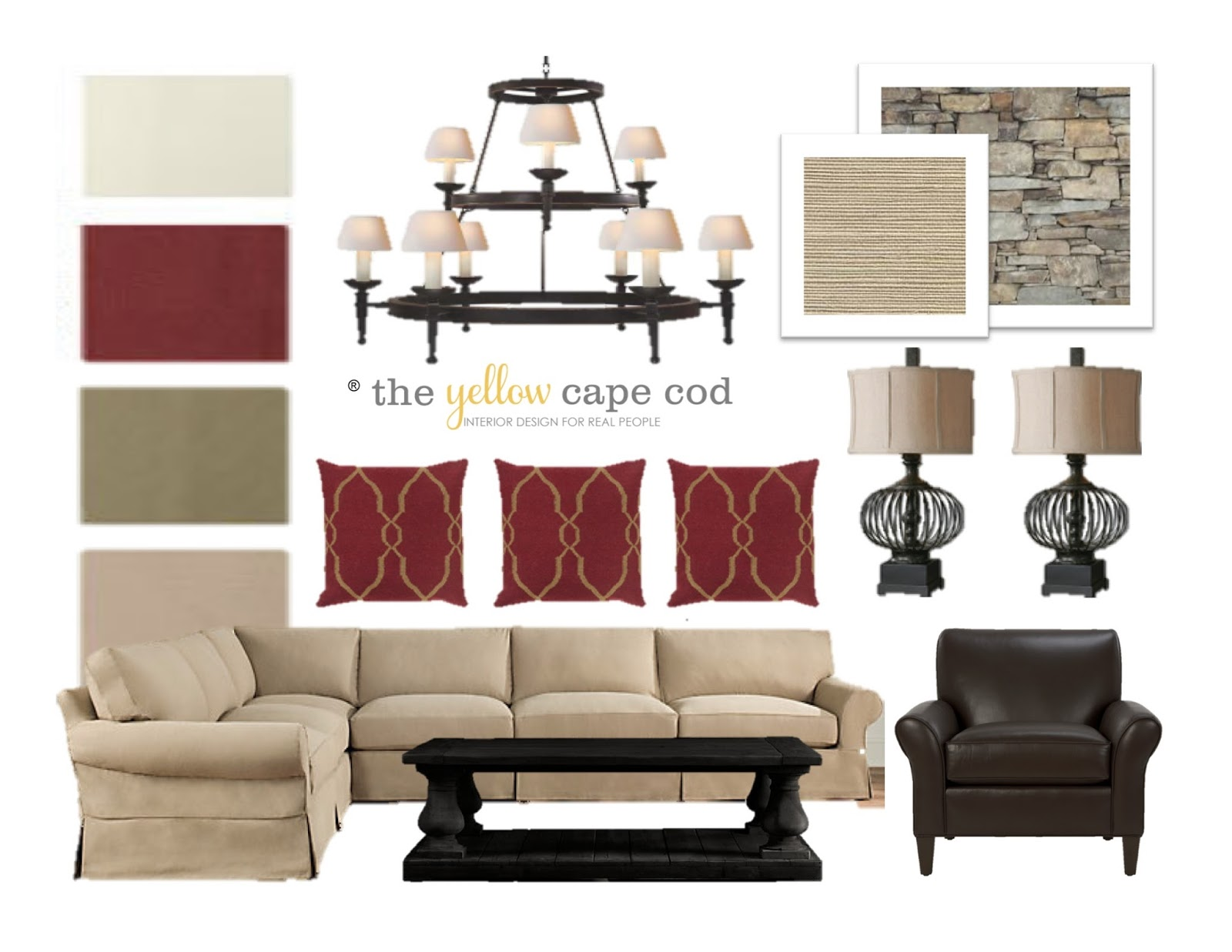 These Items Are Just Some Of The Final Layer Elements Used To Give This  Home A Fresh New Look.