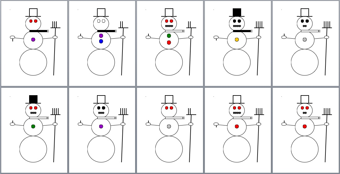Showing (19) Pics For Snowman Scarf Template...