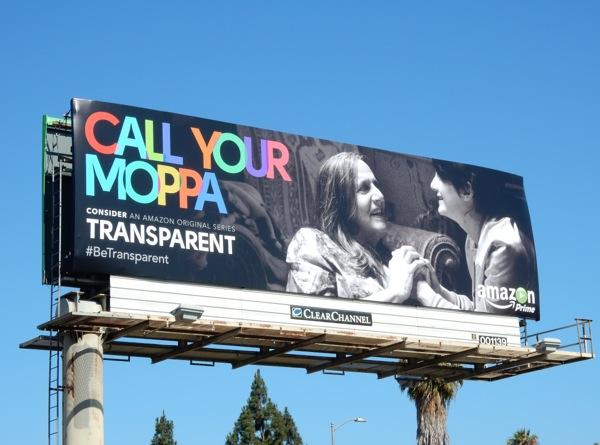 Call you Moppa Transparent 2015 Emmy billboard