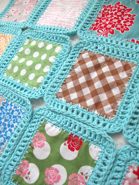 Crochet Quilt Squares : Bee In My Bonnet: Fusion Blanket Crochet Along...