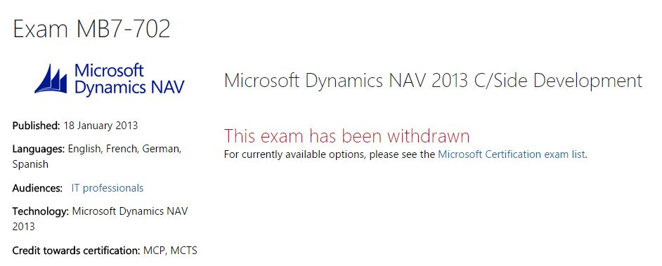 Navstorm Why Do The Microsoft Dynamics Nav 2013 Certification Exam