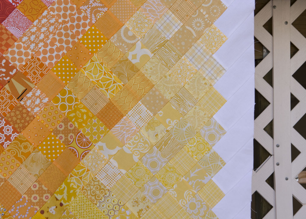 from the blue chair: The Color Quilt Top