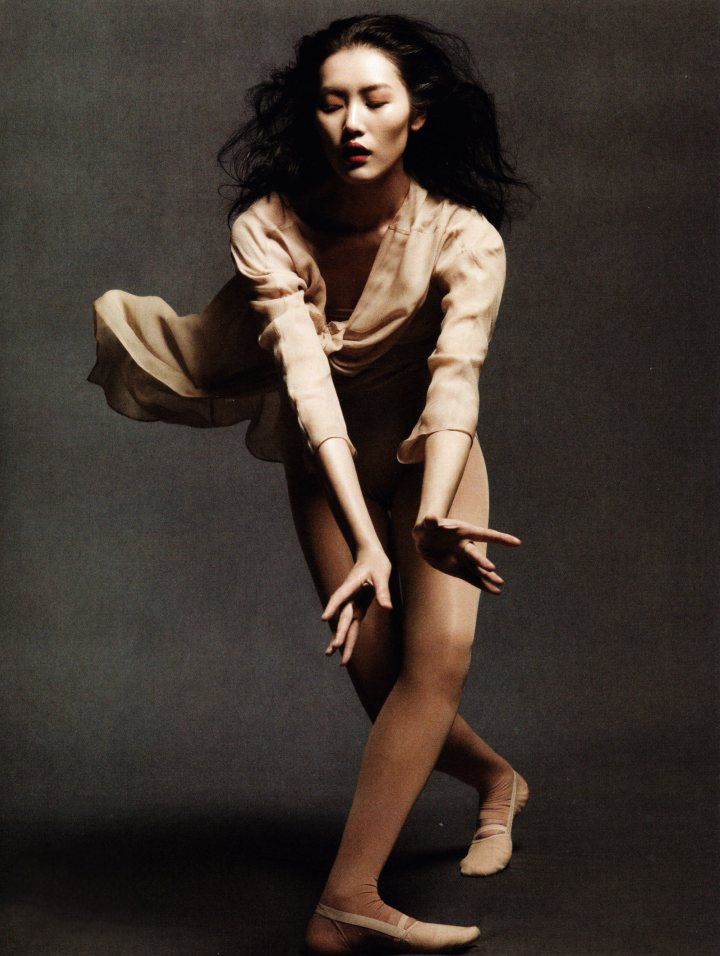 Dancing in the soul, Vogue China May 2012 (photography: Daniel Jackson; styling: Tiina Laakkonen)