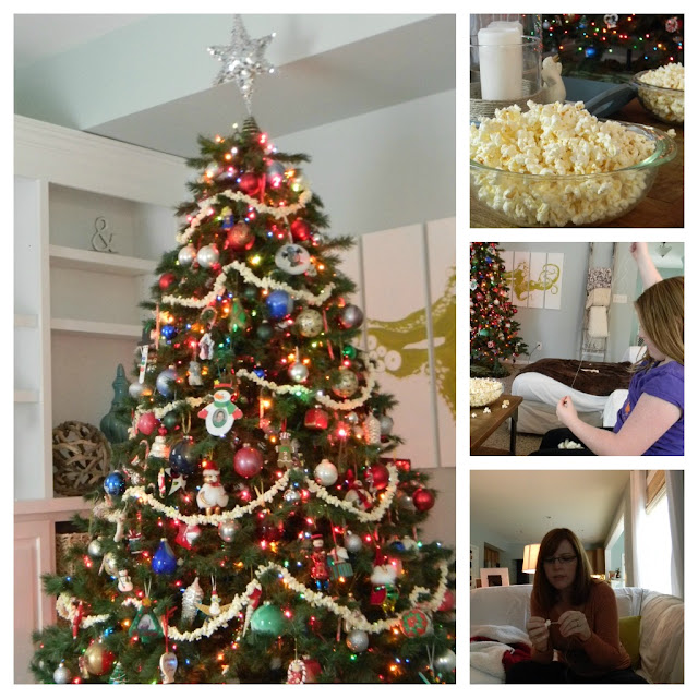 Christmas Tree Make Last Longer : Seaside interiors a little homemade christmas