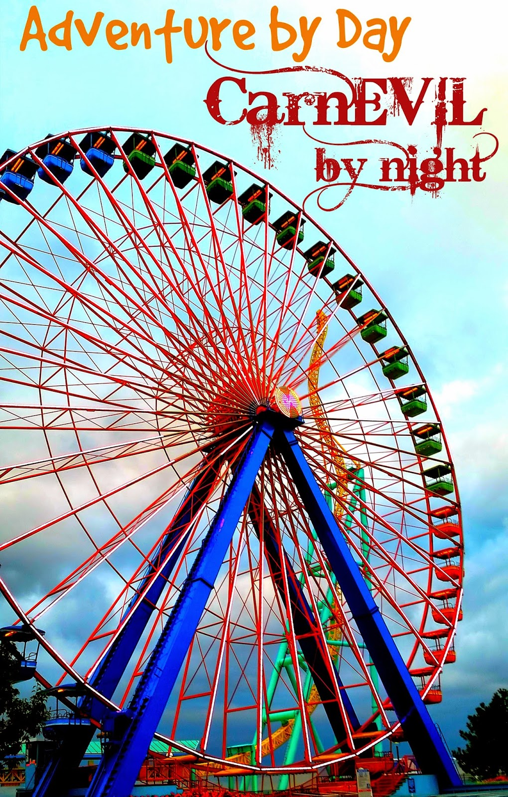 #ad Fun at Halloweekends Cedar Point