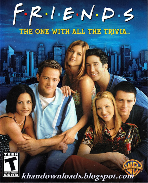 Friends Trivia DVD Game