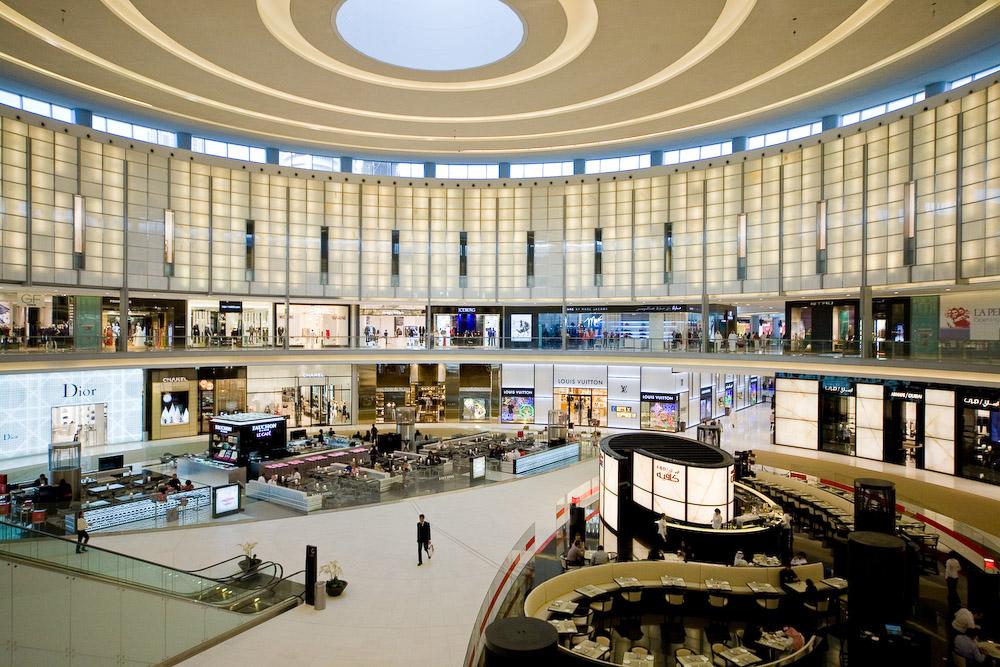 Tourism dubai mall