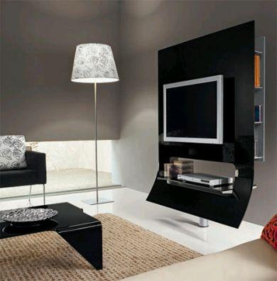 Muebles modernos para televisor for Muebles para televisor
