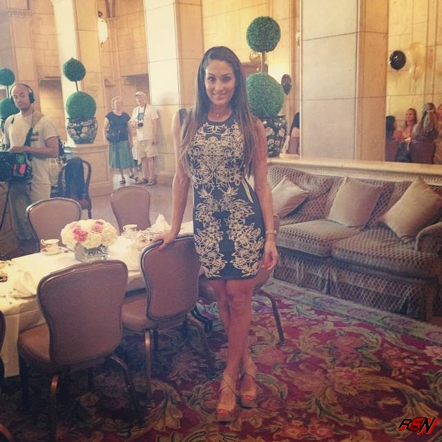 New Photo of Nikki Bella Wearing a Cute Dress.