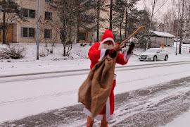Tampereen raitis ja savuton joulupukkipalvelu Tampereen talousalueella