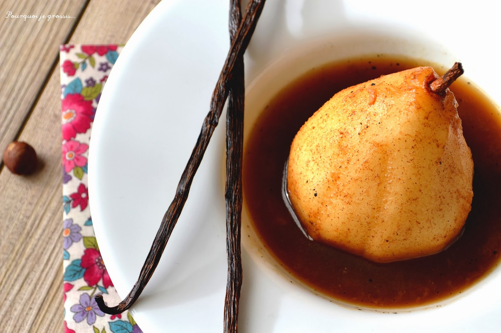Pourquoi je grossis tarte brioch e aux poires for Pourquoi je grossis