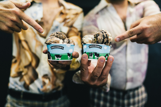 Ben and Jerry's new Two Wild & Crazy Pies ice cream