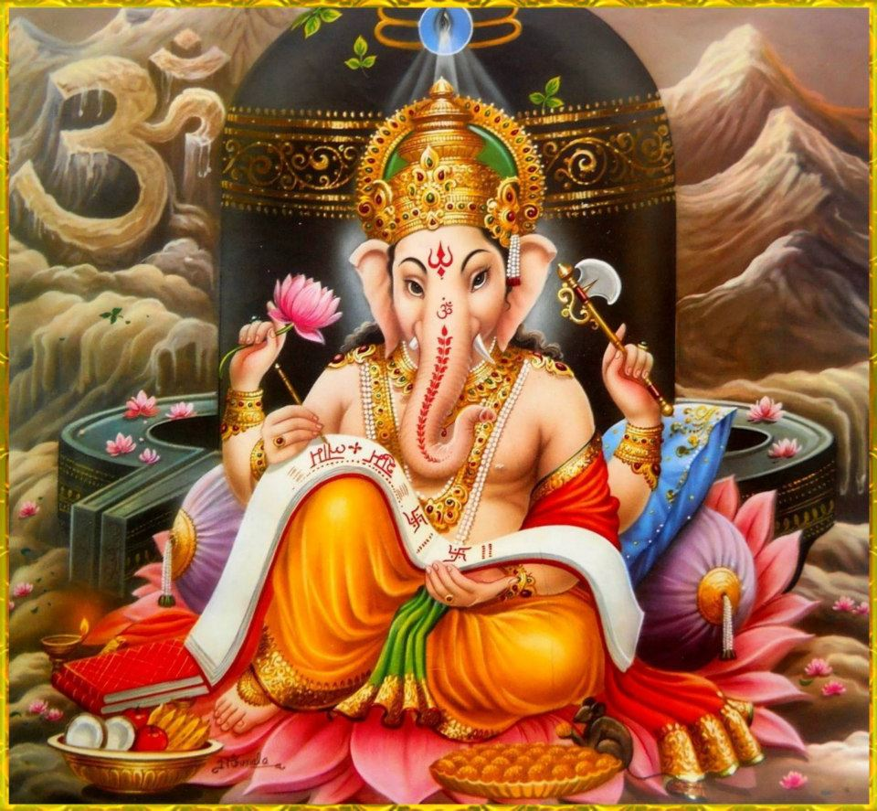 Shri Ganesh Hd Wallpaper: Lord Ganesha Image & Wallpaper