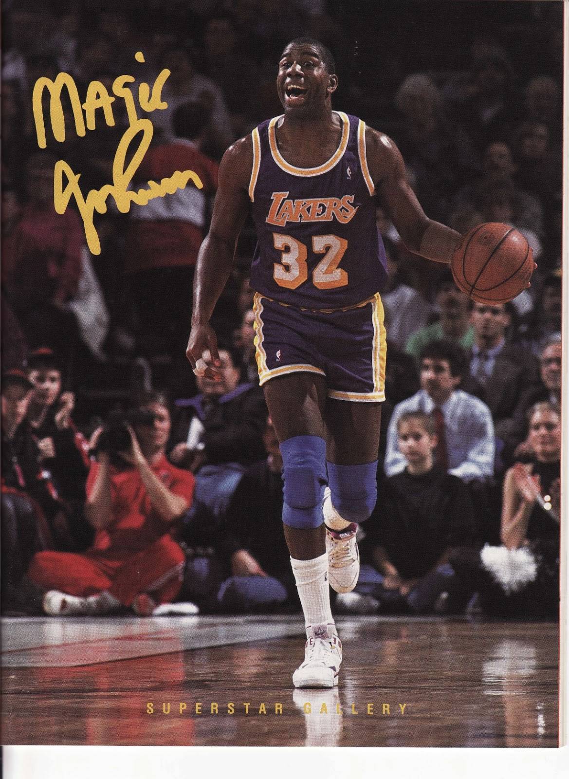 Magic Johnson from Beckett's Basketball Monthly
