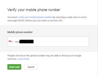 Cara mengganti username google+ menjadi nama yang diinginkan.