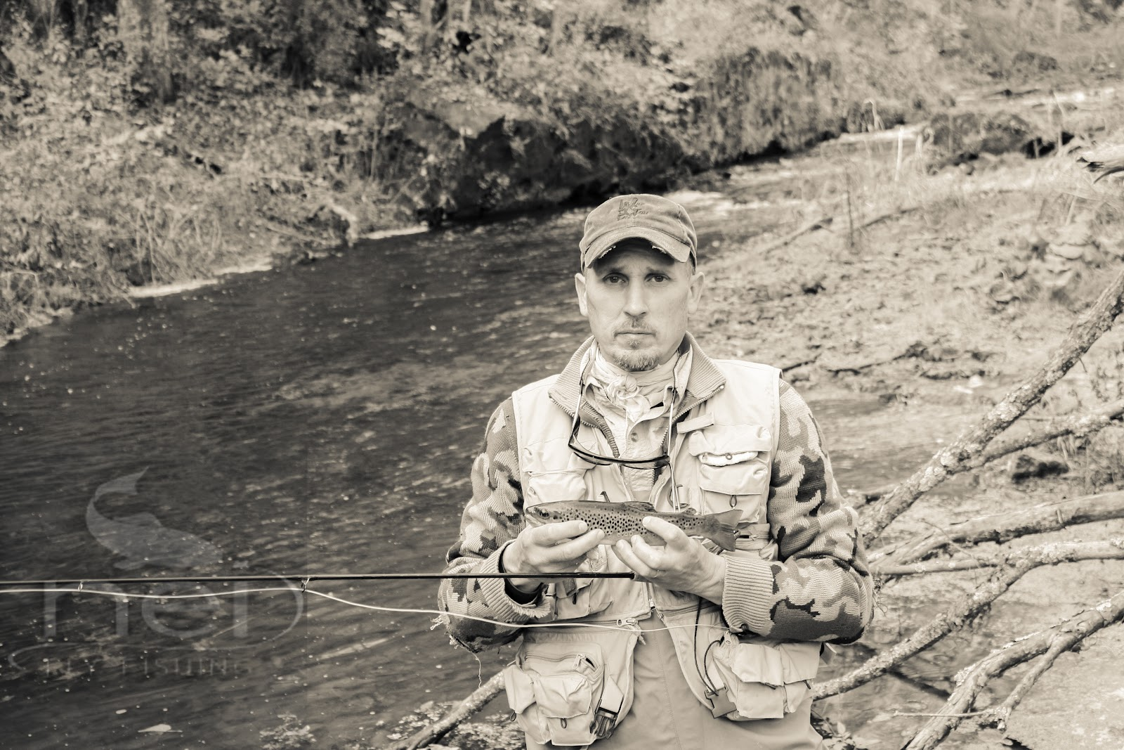 The driftless experience september 2012 for Fly fishing iowa