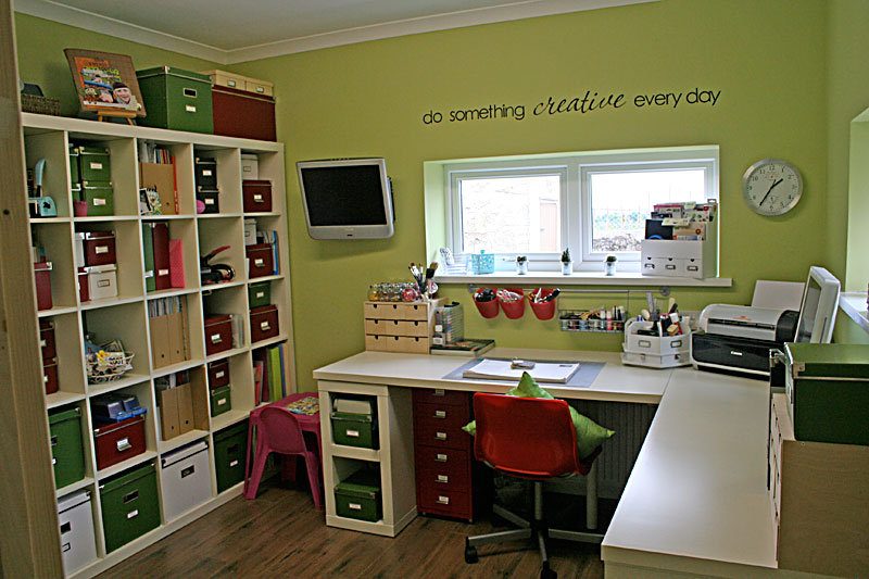 Ideias para o meu atelie - Scrapbooking storage ideas for small spaces plan ...