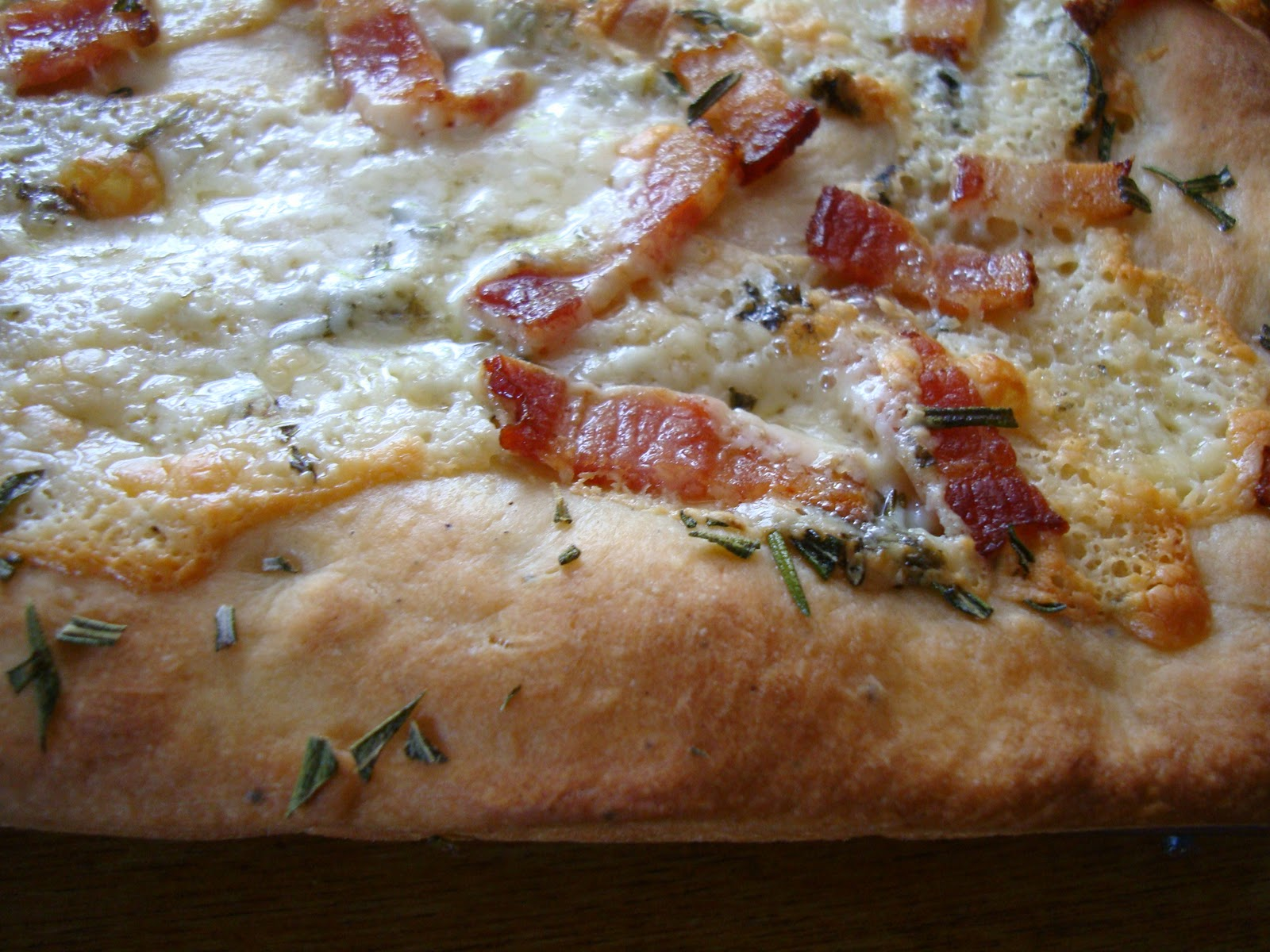 Blue Cheese-Bacon Focaccia