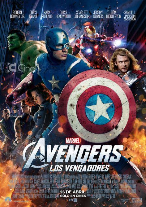 Los Vengadores (2012) DVDRip PSP/IPOD Subtitulada Avengers-assemble-poster