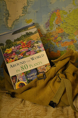 "Photo of book "" Around the World in Eighty Plants"""