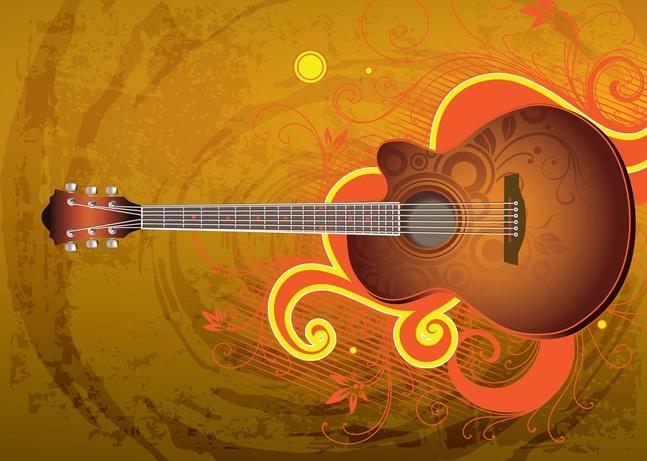 18 Free Electric Guitar Vector Art Graphics