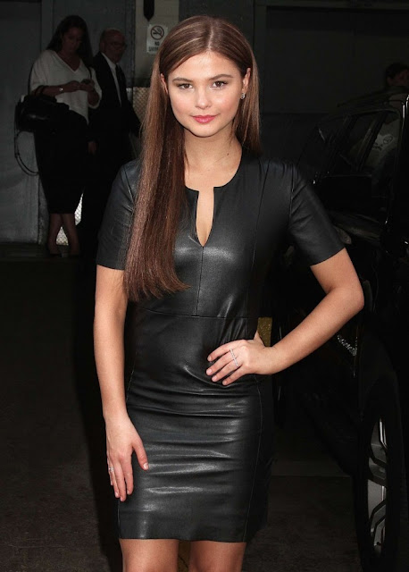 Stefanie Scott – Arrives at 'HuffPost Live' in NYC