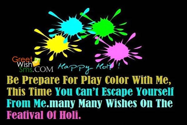 Happy Holi Short Whatsapp Status